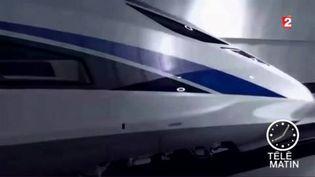 Le TGV chinois qui file à 400 km/h (France 2)