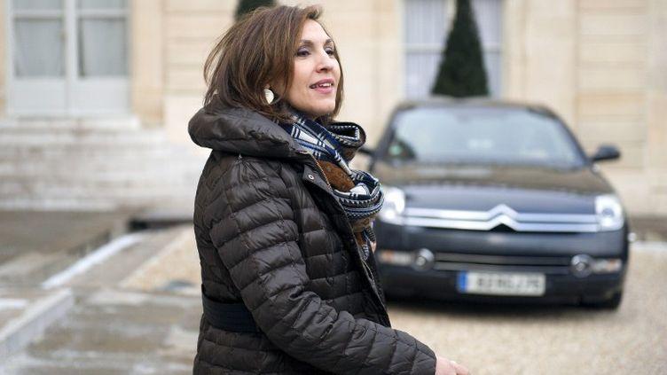 Nora Berra, secrétaire d'Etat chargée de la Santé, à l'Elysée à Paris le 8 février 2012. (LIONEL BONAVENTURE / AFP)