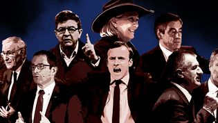 Et si la présidentielle était un film ? Franceinfo vous en dévoile la bande-annonce, le 20 mars 2017. (FRANCEINFO)