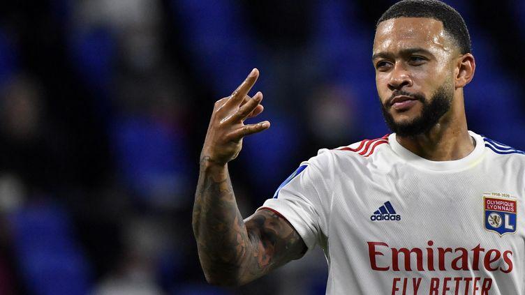 Memphis a inscrit un triplé contre Dijon (PHILIPPE DESMAZES / AFP)