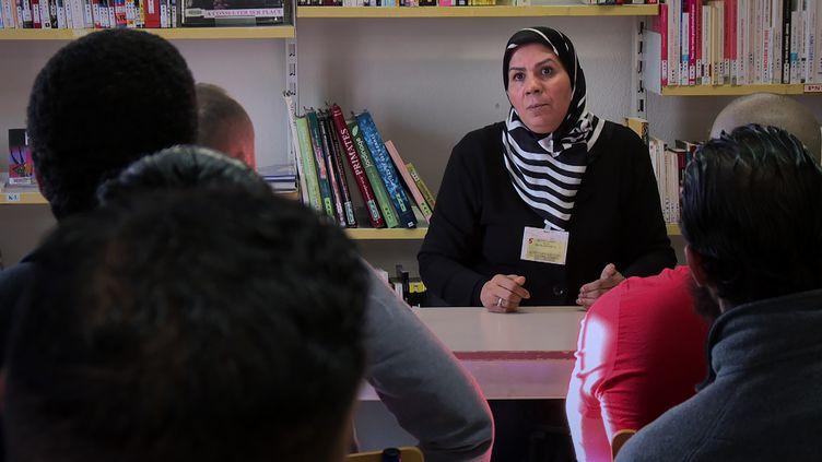 """Photo issue du documentaire réalisé parJarmila Buzkova, intitulé """"Latifa, une femme dans la République"""", diffusé dans Infrarouge sur France 2. (QUARK PROD)"""