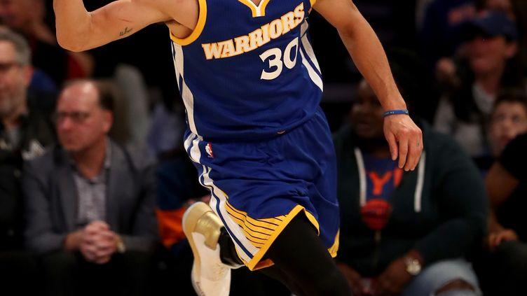 Le joueur des Warriors, Stephen Curry (ELSA / GETTY IMAGES NORTH AMERICA)