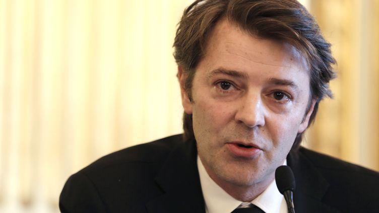 Le député-maire UMP de Troyes (Aube), le 6 avril 2013 à l'Assemblée nationale (Paris). (KENZO TRIBOUILLARD / AFP)