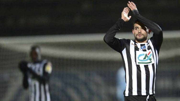Le joueur du SCO Angers, Khaled Ayari