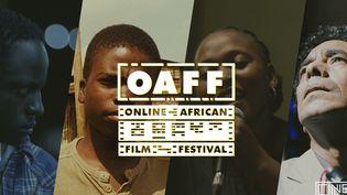 Affiche du Online African Film Festival (OAFF) (Cinewax)