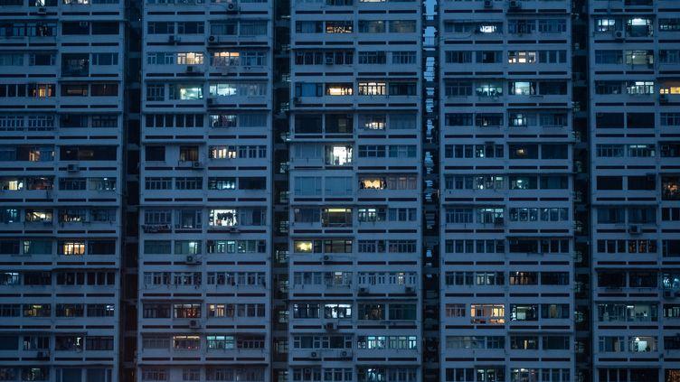 Un immeuble résidentiel de Hong Kong le 5 mai 2019. (PHILIP FONG / AFP)