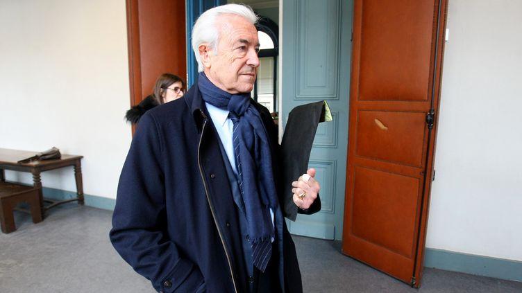 (Gilles de Robien, lors du procès, en janvier dernier © MaxPPP)