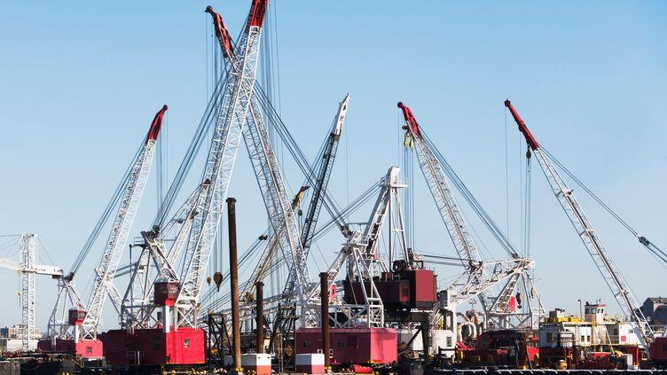 Le solde entre les importations et les exportationss'est creusé de 1,5 milliard d'euros en mai 2013. (AFP)