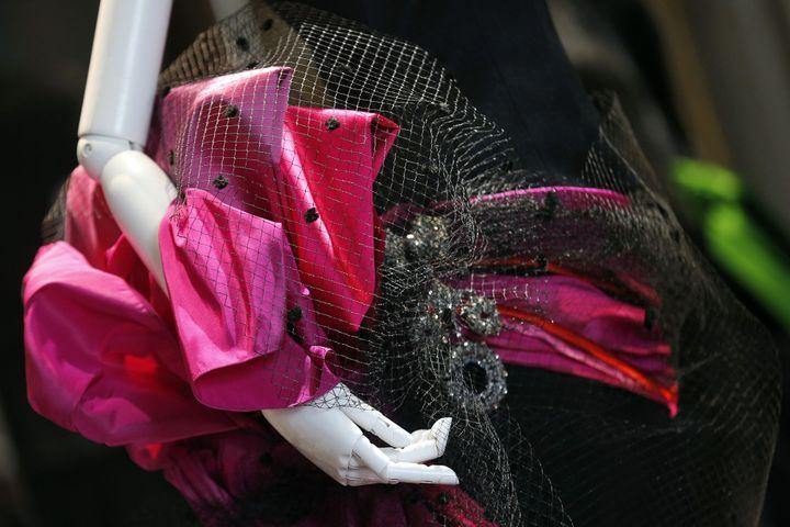 Christian Lacroix dessine une collection couture pour Elsa Schiaparelli  (FRANCOIS GUILLOT / AFP)