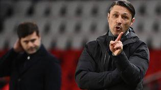 Pour sa première saison sur le banc de Monaco, Niko Kovac a su redorer le blason d'un club devenu instable. (FRANCK FIFE / AFP)