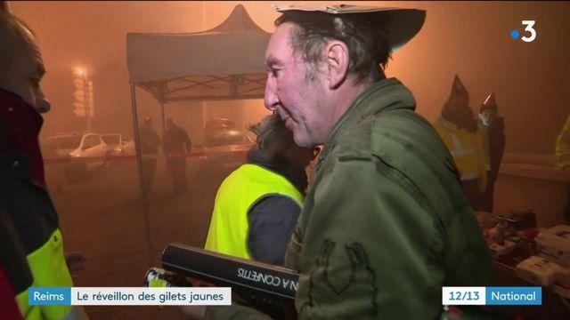 """Reims : le réveillon des """"gilets jaunes"""""""