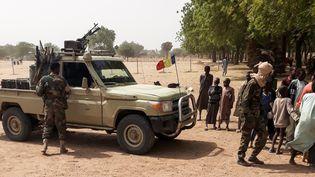 Soldats tchadiens à 25 km de N'Djamena, le 3 janvier 2020, à leur retour d'une mission de trois mois contre les jihadistes de Boko Haram au Nigeria voisin. (AFP)
