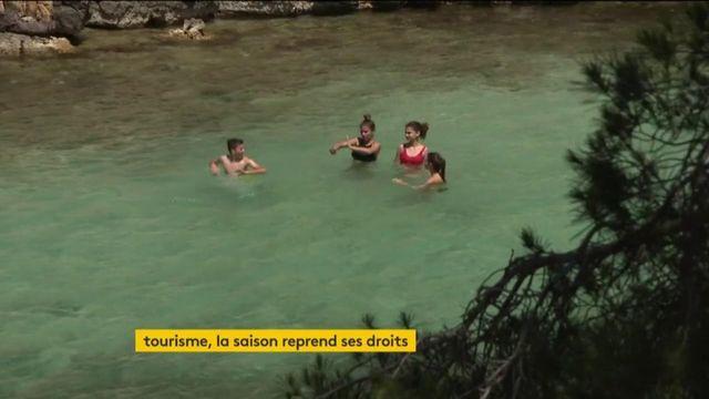 Bouches-du-Rhône : le tourisme repart, les parcs et les campings ont rouvert