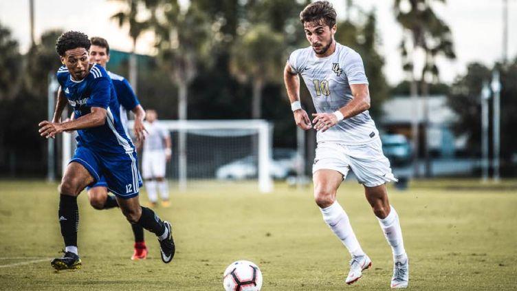 Louis Perez, milieu des Knights de l'Université de Central Florida, fait partie des Français éligibles à la MLS Superdraft