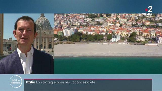 Coronavirus en Italie : l'accès aux plages pourrait être limité