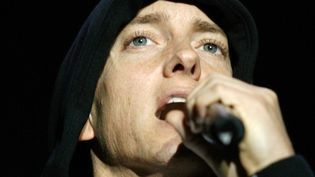 Eminem sur scène en Louisiane 2009.  (Sean Gardner / AFP)