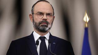 Édouard Philippe sera auditionné mercredi 1er avril par la mission d'information parlementaire de suivi de la crise du Covid-19 (GEOFFROY VAN DER HASSELT / POOL)