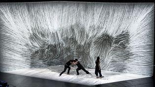 """""""Le mouvement de l'air"""", dernière création chorégraphique numérique deClaire B et Adrien M  (Romain Etienne)"""