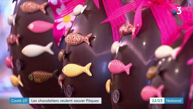 Covid-19 : des chocolatiers se réinventent pour sauver Pâques