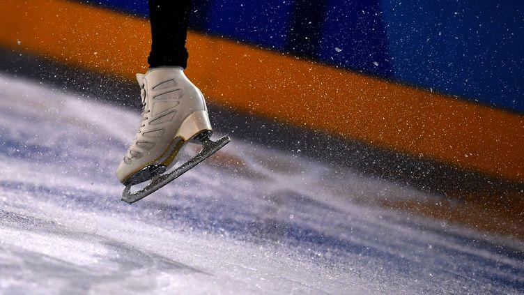 La glace de la Gangneung Ice Arena. (ARIS MESSINIS / AFP)