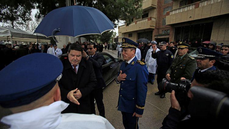 L'ancien directeur général de la police algérienne, Abdelghani Hamel, à Alger, le 9 août 2018. (RAMZI BOUDINA / REUTERS)