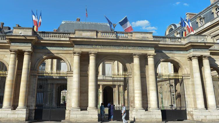 Le Conseil d'Etat, à Paris, le 26 août 2016. (ARTUR WIDAK / NURPHOTO)