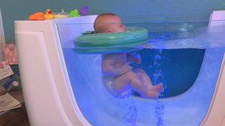 Un espace détente pour les bébés àGrosbliederstroff en Moselle (France 3 Grand Est)