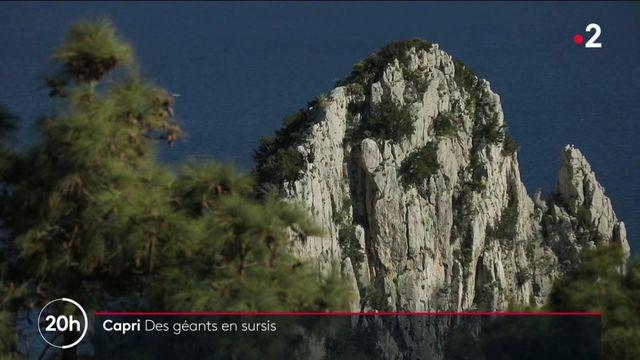Capri : les Faraglioni, mythiques rochers de l'île, sont en sursis