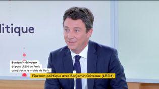 Benjamin Griveaux (FRANCEINFO)