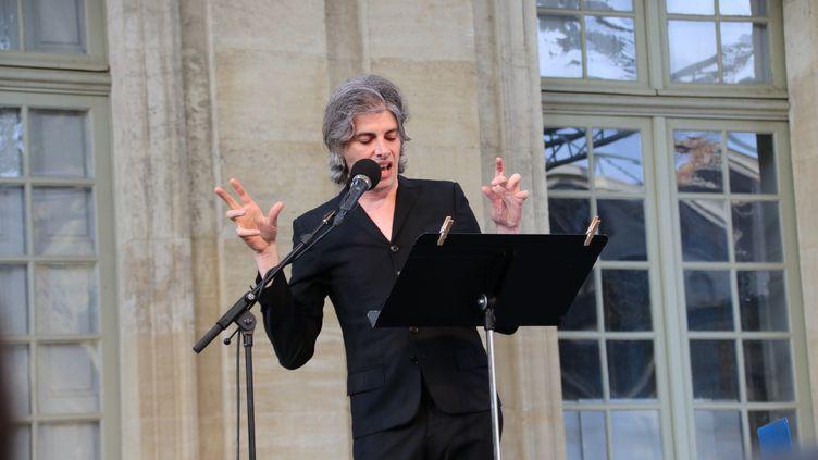 Micha Lescot lit Kafka (SOPHIE JOUVE)
