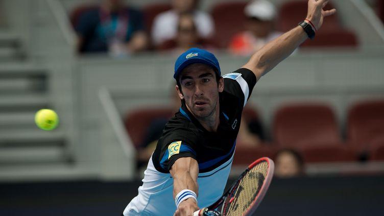 L'Uruguayen Pablo Cuevas (NICOLAS ASFOURI / AFP)