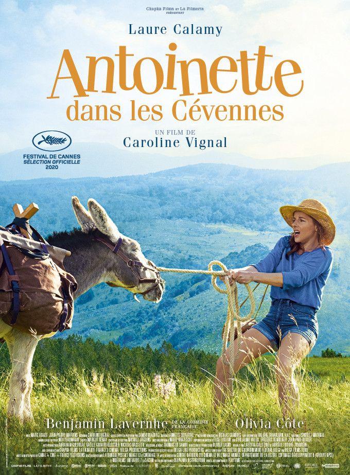 """Affiche de """"Antoinette dans les Cévennes"""", de Caroline Vignal, septembre 2020 (Diaphana Distribution)"""