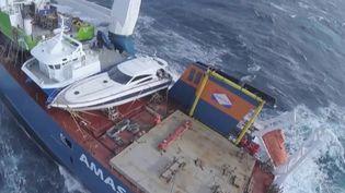 Norvège : l'incroyable sauvetage d'un cargo en perdition (France 2)