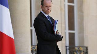 Jean-Jacques Urvoas quitte le palais de l'Elysée, le 16 juillet 2016. (MATTHIEU ALEXANDRE / AFP)