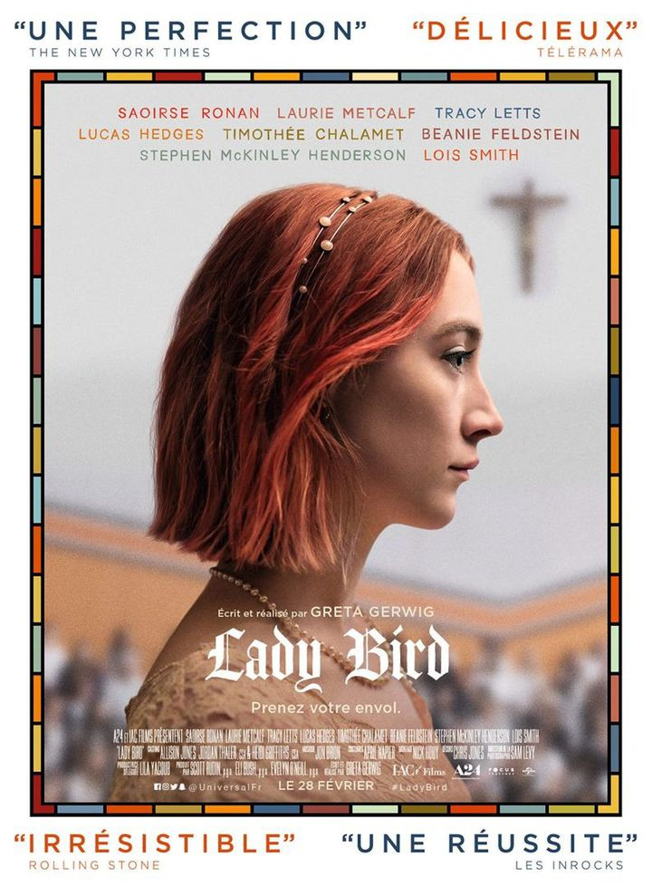 """""""Lady Bird"""" : l'affiche  (Universal Pictures International France)"""