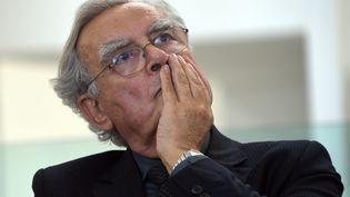 Bernard Pivot, le 27 octobre 2015 à Tunis (Tunisie). (FETHI BELAID / AFP)