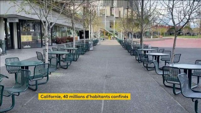 Coronavirus: la Californie premier état américain en confinement