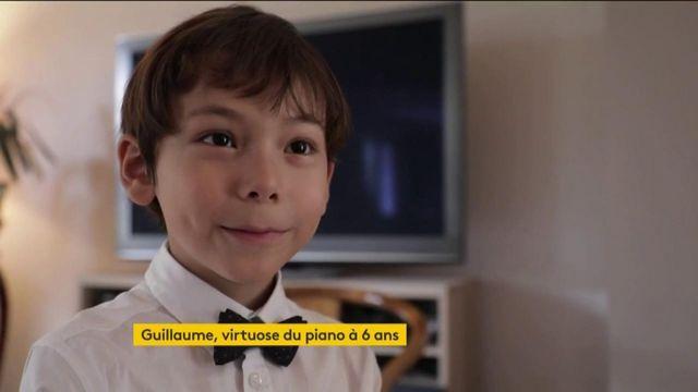 A 6 ans, Guillaume Benoliel suit les traces de Mozart