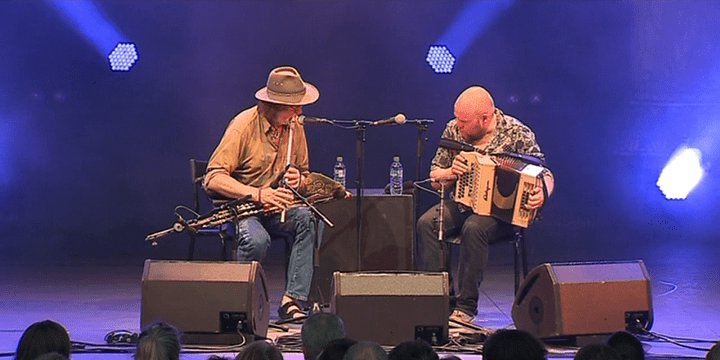 Paddy Keenan et David Munelly  (France 3 / culturebox / capture d'écran)