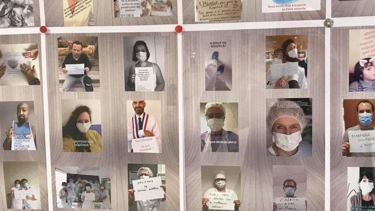 Manifestation virtuelle sur les réseaux sociaux pour les personnels de l'hôpital de Saint-Dié-des-Vosges (Acteurs Santé Saint-Dié)