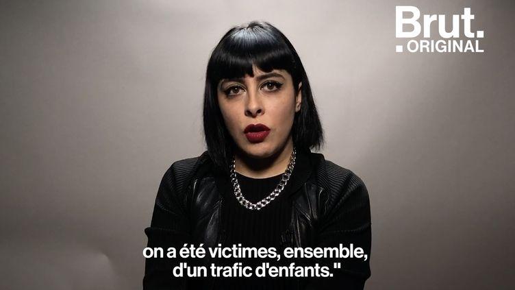 """VIDEO. """"On a été victimes d'un trafic d'enfants"""" : l'histoire incroyable de Carmen Maria Vega (BRUT)"""