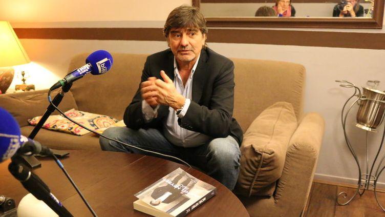 Virginie Salanson et Véronique Pueyo ont rencontré Michel Neyret pour France Bleu isère (Radio France - Virginie Salanson)