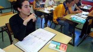 Chaque année en France, 100000 jeunes quittent le système scolaire sans diplôme. (photo d'illustration) (MAXPPP)