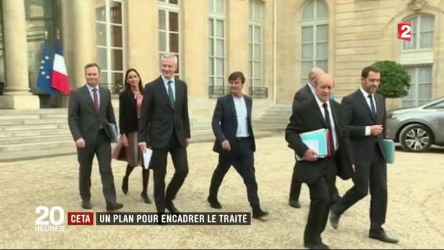 CETA : le plan du gouvernement pour encadrer le traité