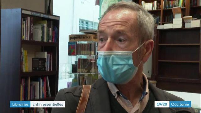 """À Béziers, """"On a souffert de travailler en magasin fermé"""" disent des libraires soulagés par le décret gouvernemental"""
