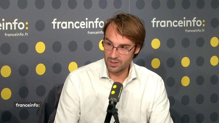 Sébastien Lyon, directeur général d'Unicef France, était l'invité de franceinfo lundi 1er octobre 2018. (FRANCEINFO)