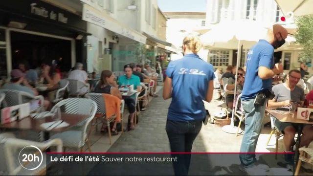 Ile de Ré : un couple de restaurateurs se démène pour sauver son affaire