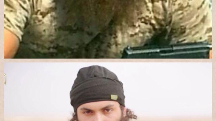 Les services de renseignements ont identifié le Français Michaël Dos Santos, 22 ans, comme l'un des jihadistes de l'Etat islamique présent sur la vidéo des exécutions diffusées dimanche 16 novembre 2014. (AL-FURQAN MEDIA)