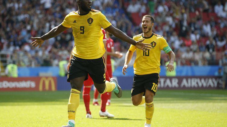 Romelu Lukaku et Eden Hazard ont porté la Belgique face à la Tunisie. (ANDRES PINA/PHOTOSPORT / PHOTOSPORT)