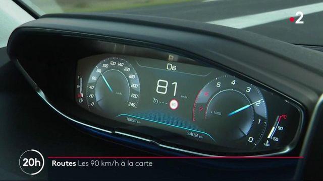 Routes : vers le retour à 90 km/h pour certaines routes